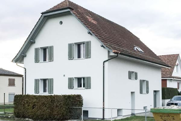 Einfamilienhaus Sanierung